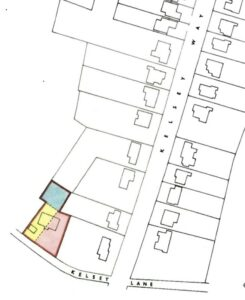 1969 map of 49 Kelsey Lane from Land Registry title